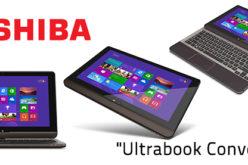 TOSHIBA apuesta a mayor portabilidad con su poderosa Ultrabook Convertible