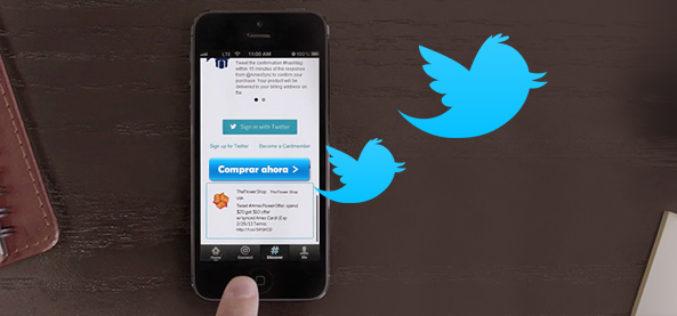 """Twitter lanzo el boton """"comprar ahora"""""""