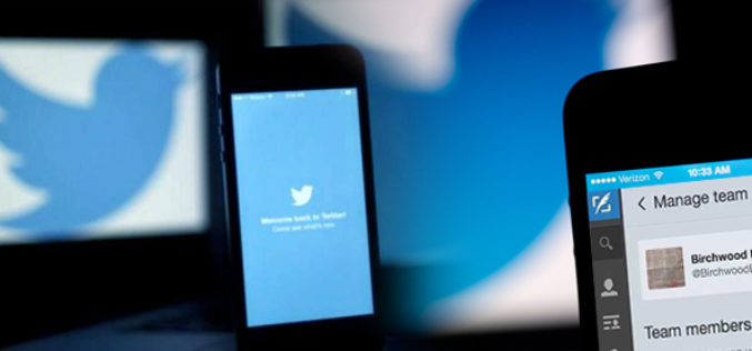 Cuenta Twitter grupal sin compartir contrasena