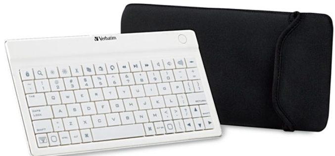Verbatim presento un teclado con Bluetooth para tablets
