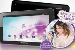 Grupo Nucleo lanza las Tablets Violetta de PC BOX