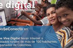 El Ministerio de las TIC anuncio la inauguracion de 80 nuevos Kioscos Vive Digital en Colombia