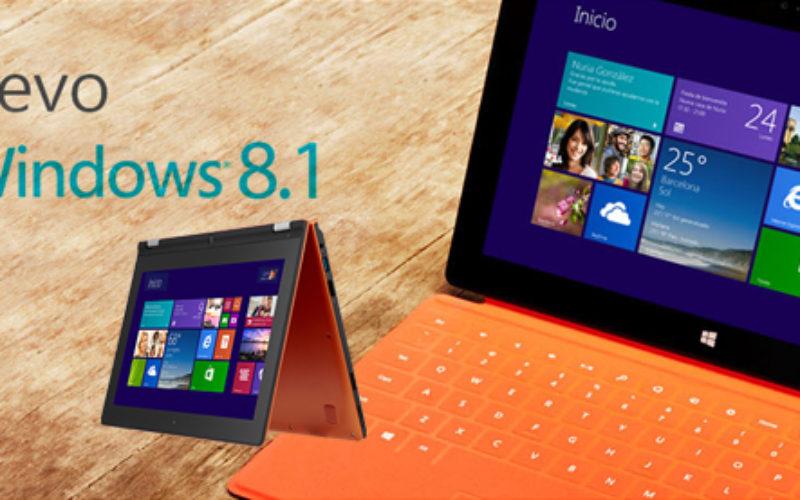 Windows 8.1 viene con mejoras y equipos certificados