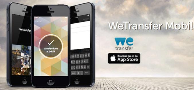 Llega WeTransfer para iOS