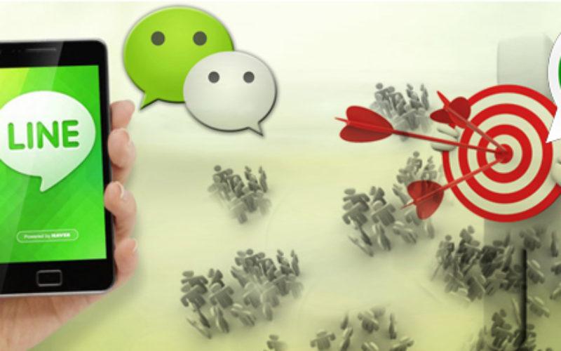 Line y We Chat van a la caza de Watsapp