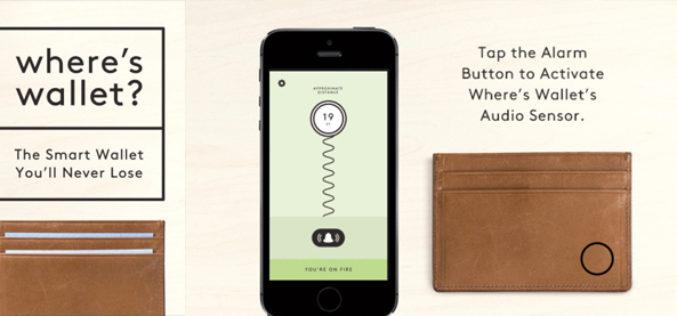 La billetera que te avisa si la haz dejado atras
