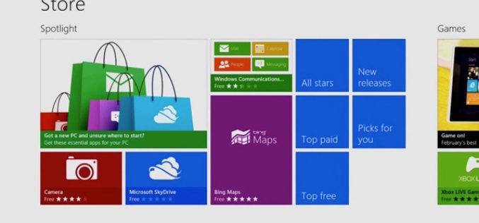 """""""La tienda de aplicaciones de Windows 8 tiene un alcance inedito"""""""