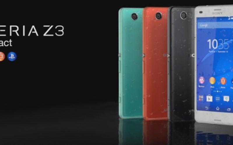 Xperia Z3 Compact disponible en Mexico