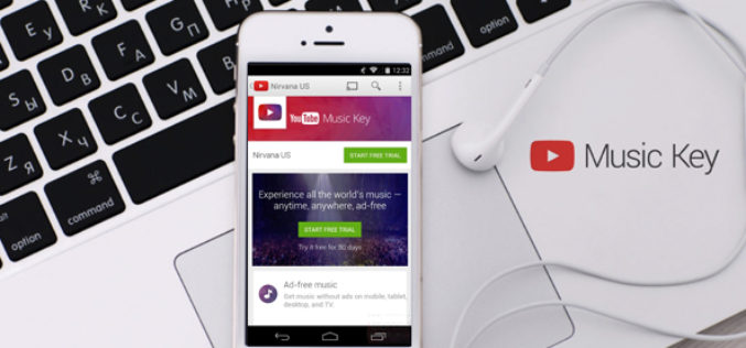 Google lanza YouTube Music Key para competir con Spotify