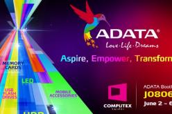 ADATA presenta sus nuevos productos  en Computex Taipei 2015