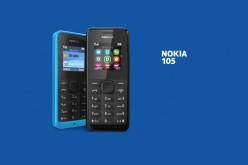 Nokia 105 smartphone de Microsoft de 20 dólares y aguanta 35 días