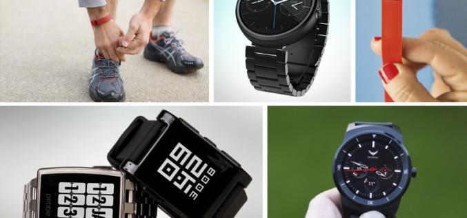 Los 5 mejores productos de la tecnología usable en el mundo ahora mismo