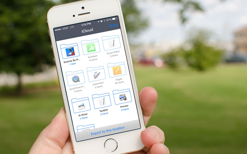 iCloud Drive estrena app en iOS 9