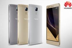 Huawei presentó el smartphone Honor 7