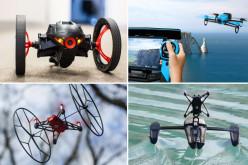 Nuevos mini drones Parrot teledirigidos de tierra, agua y aire