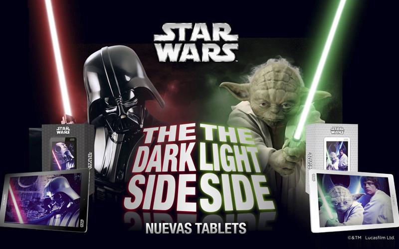 Noblex lanzó su línea de tablets de Star Wars