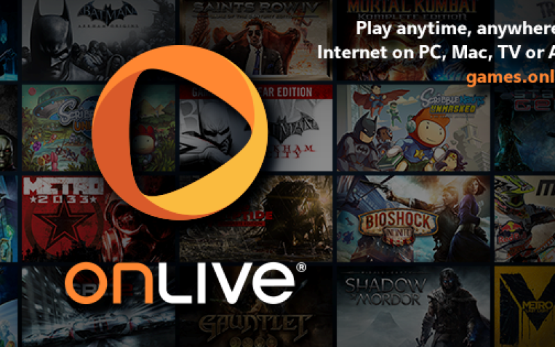 Sony Computer Entertainment  adquirira una seleccion de activos de OnLive