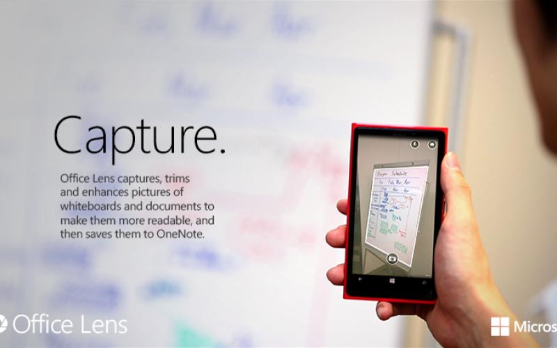 Office Lens nueva app de Microsoft para escanear