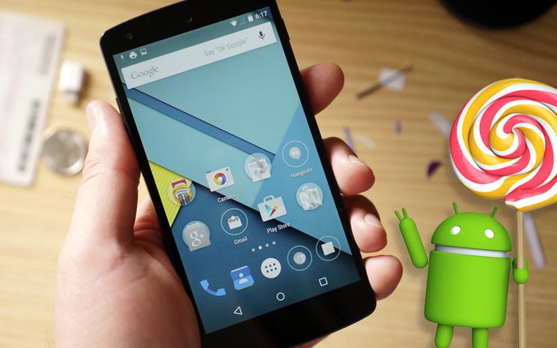 Lollipop está ya en el 18% de los dispositivos Android