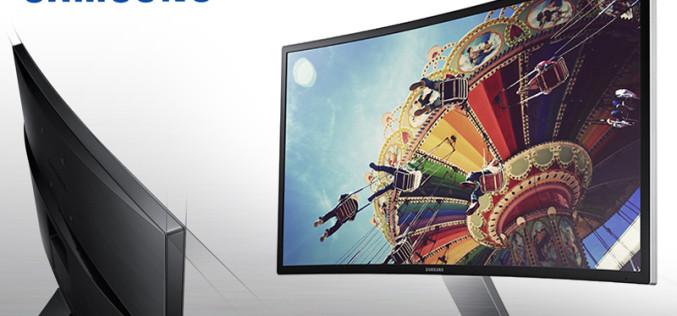 ¿Un monitor curvo? Samsung lo tiene, descúbrelo