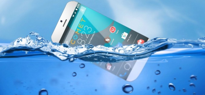 Inventan un smartphone capaz de flotar en el agua