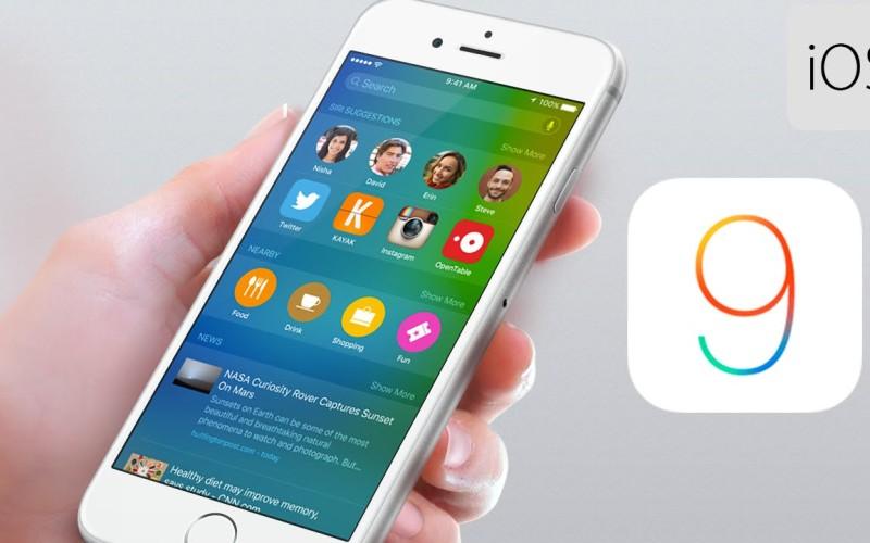 Conoce todos los detalles del nuevo iOS 9 de iPhone