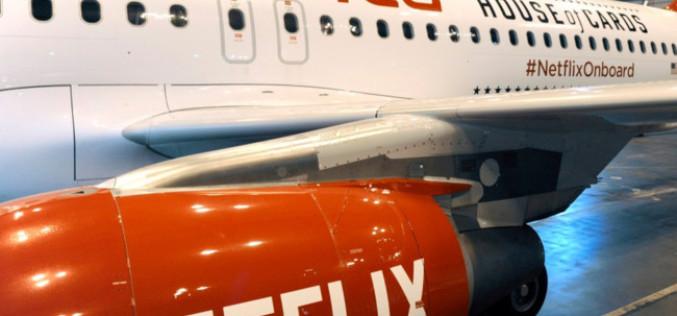 Netflix se estrena en los aviones de Virgin America