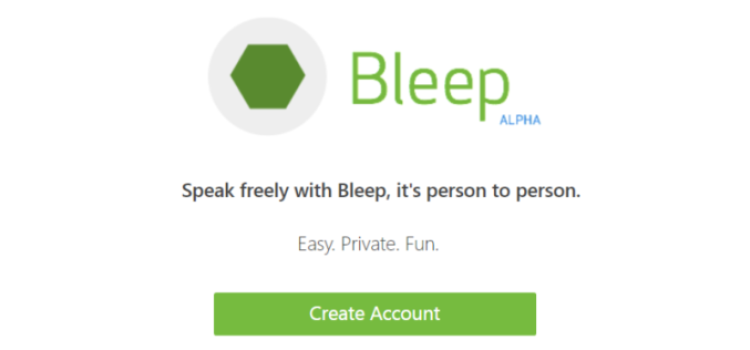 Bleep un servicio de mensajería instantánea encriptada