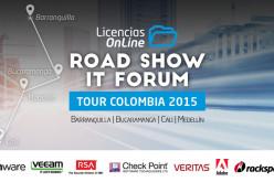 Licencias Online invita al Road Show IT Forum Tour Colombia 2015