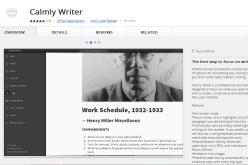 Calmlywriter un editor de texto minimalista