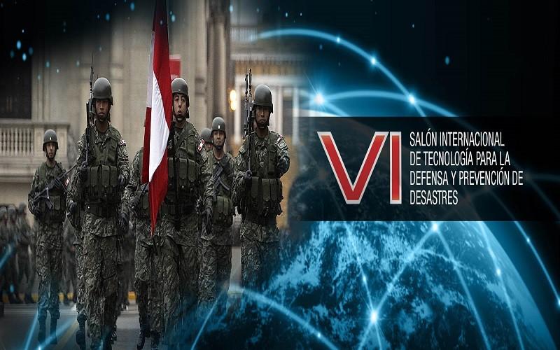 VI Salón Internacional de Tecnología para la Defensa y Prevención de Desastres 2017 – Lima, Perú
