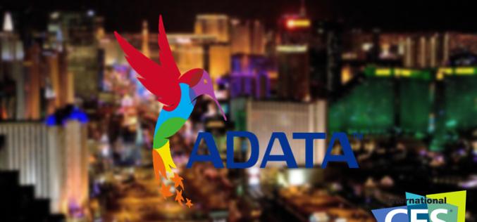 ADATA Technology: Una vitrina de evolución futurística en el #CES2016