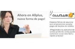 AllPlus dispone de nueva forma de pago para sus clientes