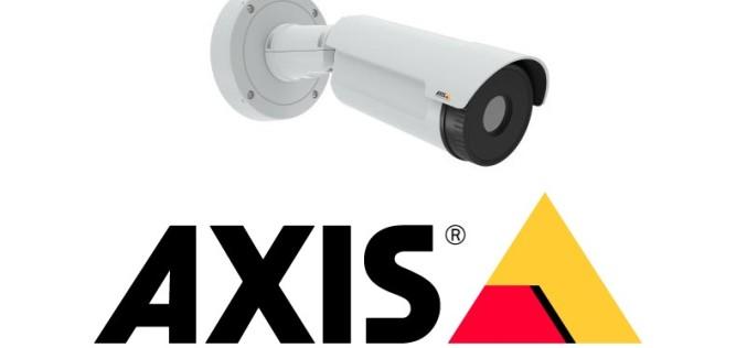 Axis presenta una económica cámara de red térmica tipo bala para exteriores