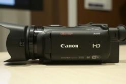 Canon lanza nuevas videocámaras HD ideales para profesionales