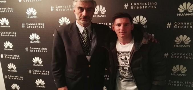 Huawei es el nuevo aliado de Messi en el mundo