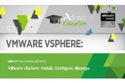 Fórmate en vSphere con Adistec