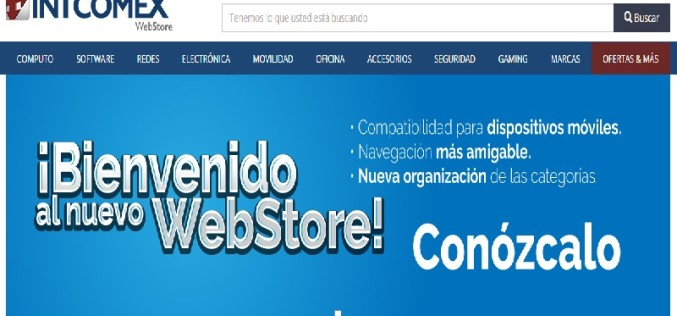 Webstore de Intcomex ya está disponible para dispositivos móviles