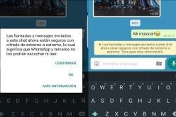 Ahora las conversaciones de WhatsApp son seguras