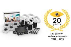 Axis celebra 20 años del lanzamiento de su primera cámara de red