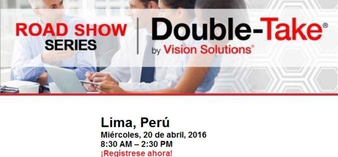 Vision Solutions Roadshow Lima 2016: Aprenda a crear una infraestructura de informática moderna y ágil