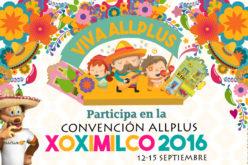 Únete a la gran convención anual de Allplus en Xoximilco
