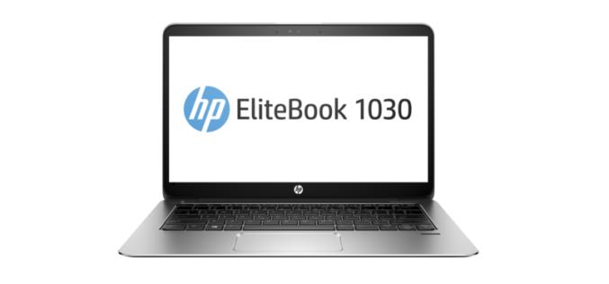 HP EliteBook 1030 G1, una notebook hermosa, compacta y resistente