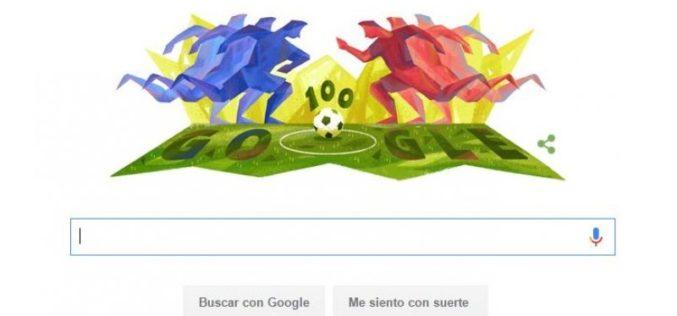 Google rinde homenaje a los 100 años de la Copa América