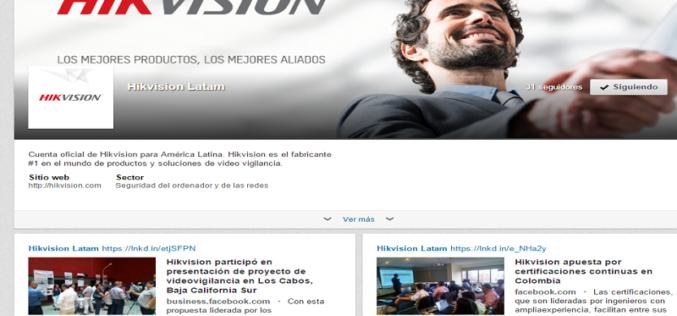 Hikvision Latinoamérica abre más canales de comunicación a través de sus redes sociales