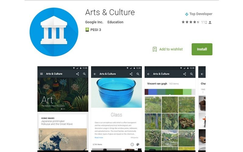 ¿Conoces la nueva app de Google para recorrer museos?