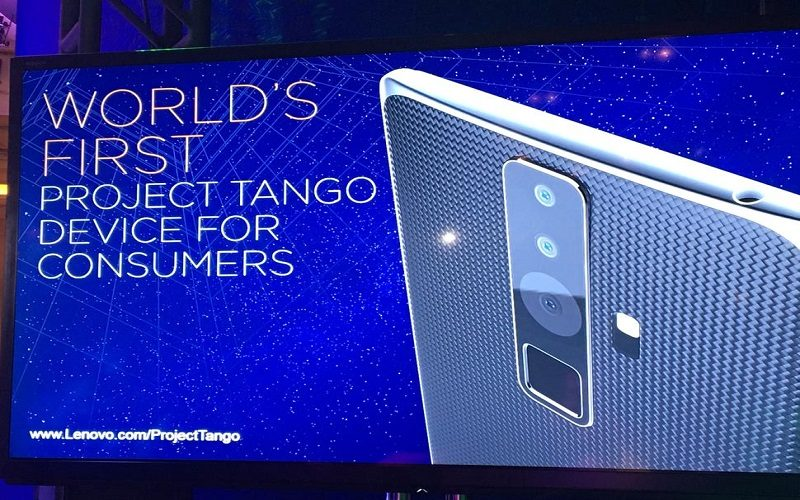 Proyecto Tango de Lenovo te permite experimentar realidad aumentada desde tu celular