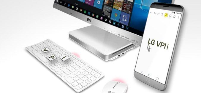 VPInput, una app de LG para controlar los LG G5, G4 y V10 con la PC