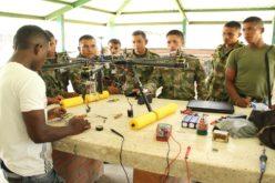"""Crean en Colombia un dron capaz de """"olfatear"""" minas antipersonales"""