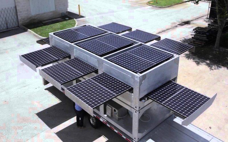 Ecos PowerCube, energía solar en un contenedor
